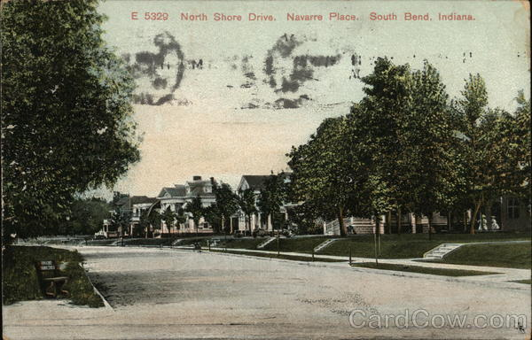 North Shore Drive, Navarre Place South Bend Indiana