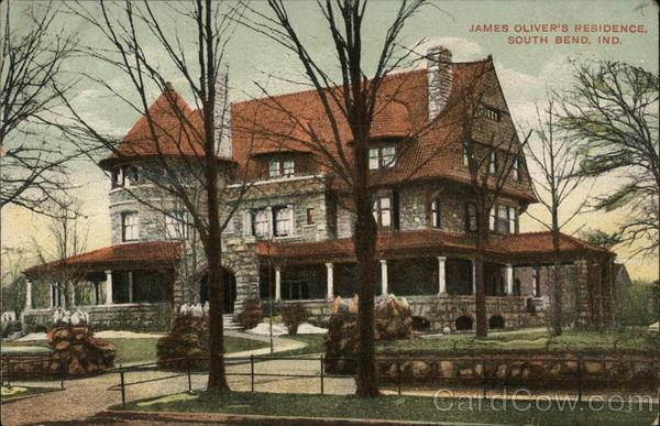 James Oliver's Residence South Bend Indiana
