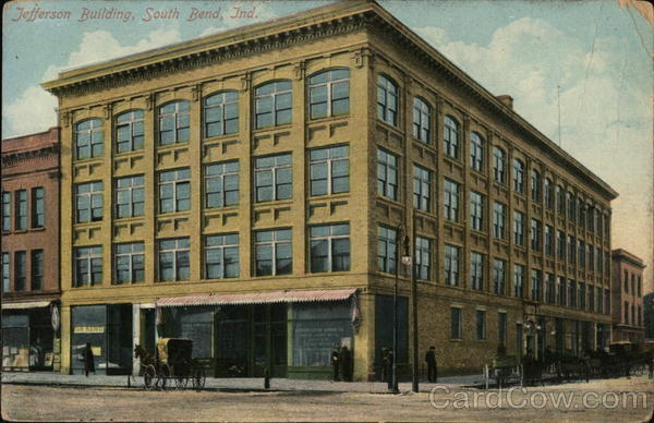 Street View of the Jefferson Building South Bend Indiana