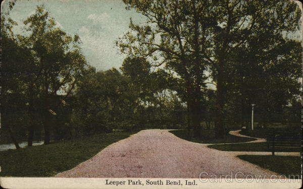 Scenic View of Leeper Park South Bend Indiana