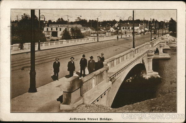 Jefferson Street Bridge South Bend Indiana