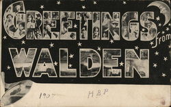 Greetings from Walden