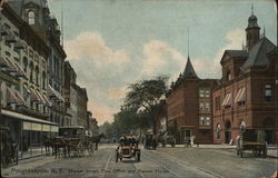Market Street, Post Office and Nelson House