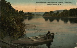 Susquehanna River from St Patrick's Cemetery