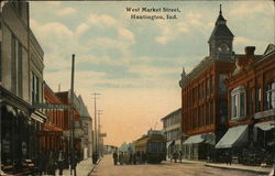 West Market Street Postcard