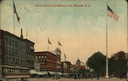Broad Street and Military Park