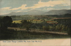 View Lower Range Catskills Mountains