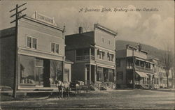 A Business Block, Roxbury-in-the-Catskills