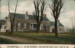 An Old Landmark-The Kiersted House Postcard