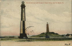 Old and New Lighthouses, Cape Henry