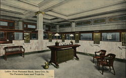 Lobby, First National Bank