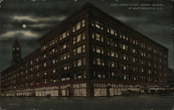 Sibley, Lindsay & Curr Company Building at Night