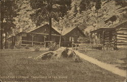 Hotel and Cottage, Troutdale-in-the-Pines Postcard