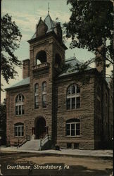 Courthouse Postcard