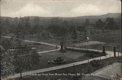Landscape Scene from Mount Airy Home