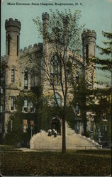 Main Entrance, State Hospital