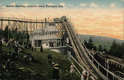 Scenic Railway, Council Crest