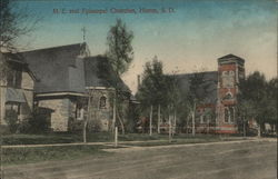 M. E. and Episcopal Churches