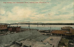 High Bridge over Mississippi River, looking East