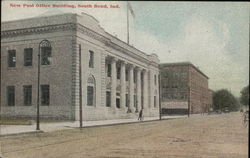 New Post Office Building Postcard