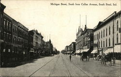 Michigan Street, South from Colfax Avenue
