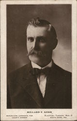Millard F. Kerr, Republican Candidate for County Sherriff, South Bend