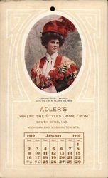 "Adler's ""Where Style Comes From"", South Bend, indiana, ichigan and Washington Sts."