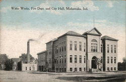 Water Works, Fire Department, and City Hall