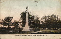 Soldiers' Monument, Battell Park