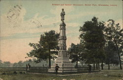 Soldiers and Sailors' Monument, Battell Park