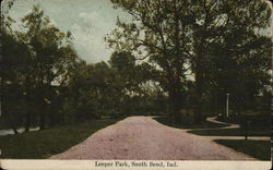 Scenic View of Leeper Park Postcard