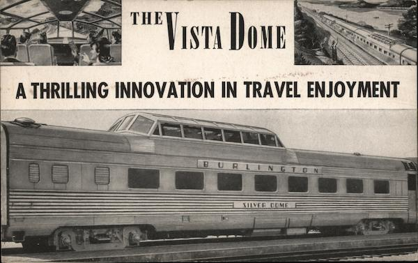 Vista Dome Trains, Railroad