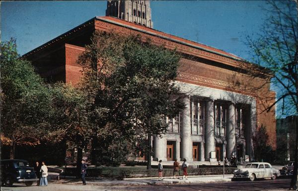 Hill Auditorium Ann Arbor Michigan