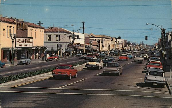 Broadway Santa Maria California