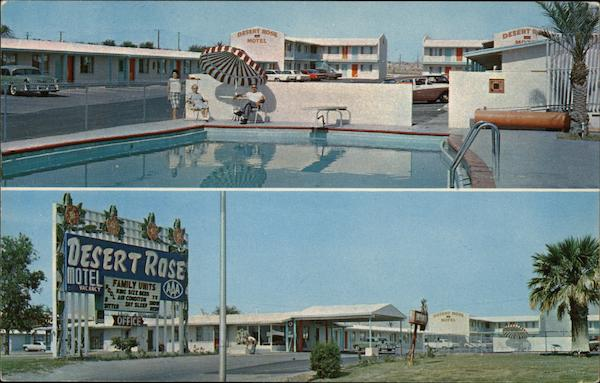 Desert Rose Motel Las Vegas Nevada
