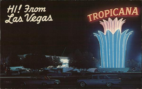 The Tropicana Hotel Las Vegas Nevada