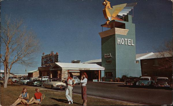 The New Thunderbird Hotel Las Vegas Nevada