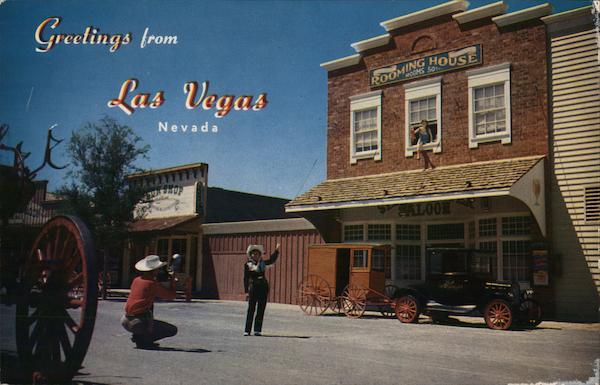 Last Frontier Village Las Vegas Nevada Merle Richards