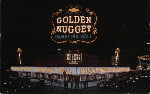 Golden Nugget Gambling Hall Las Vegas Nevada