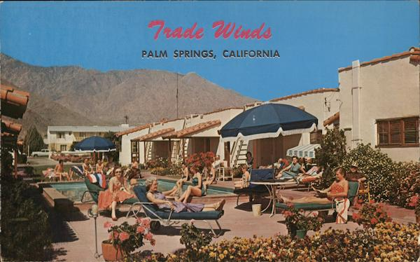 Burket's Trade Winds Hotel Palm Springs California