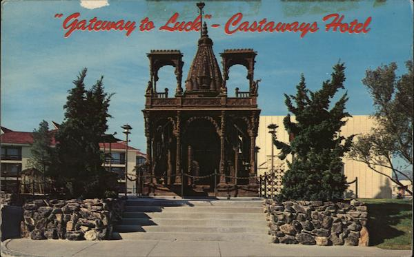Gateway to Luck, Castaways Hotel Las Vegas Nevada