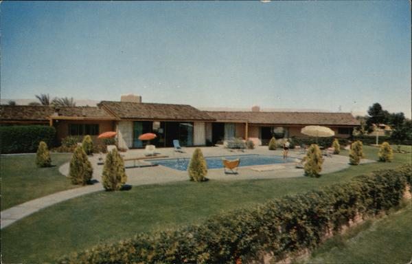 Home of Phil Harris and Alice Faye Palm Springs California