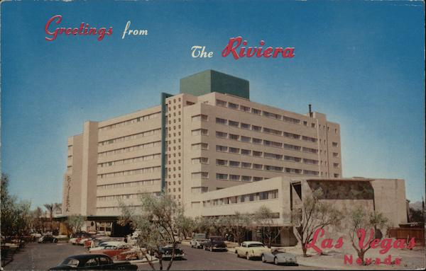 The Riviera Hotel Las Vegas Nevada Merle Richards