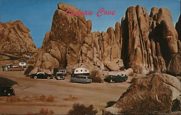 Indian Cove Campground Twentynine Palms California
