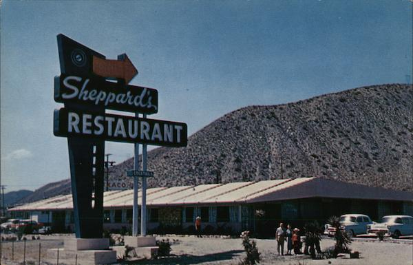 Sheppard's Restaurant Whitewater California