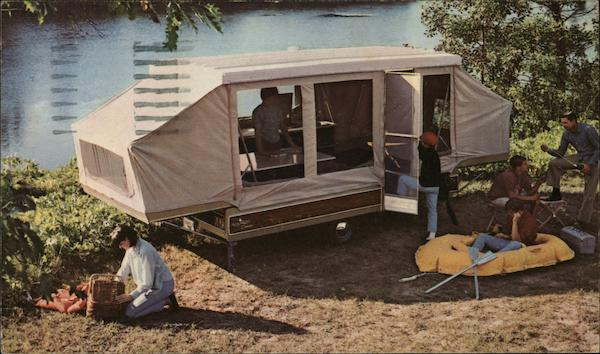 Nimrod Camelot Deluxe Pop-up Camper Advertising Trailers, Campers & RVs