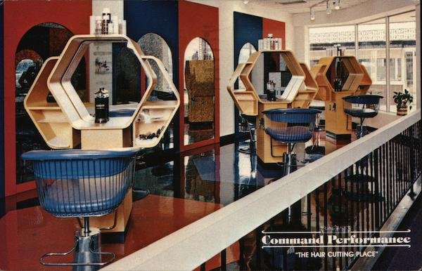 Command Performance, The Hair Cutting Place Daytona Beach, FL Postcard