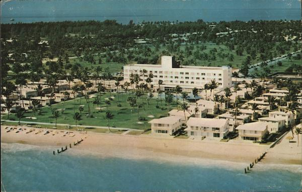 the key biscayne hotel villas miami fl postcard. Black Bedroom Furniture Sets. Home Design Ideas