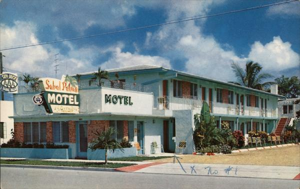 Sabal Palms Motel Miami Florida