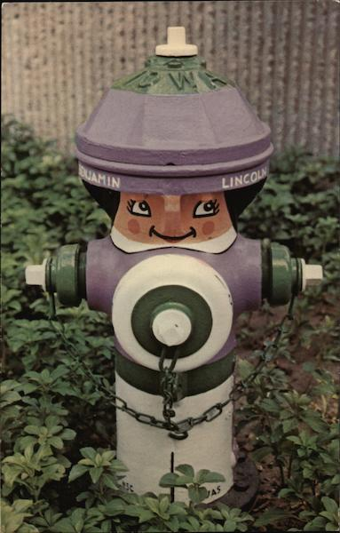 Benjamin Lincoln the Fire Hydrant South Bend Indiana